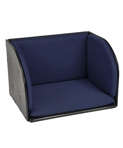 BioForm, Double Leg (1 piece), Padded Footboxes, Hardware to secure from Seat Pan.