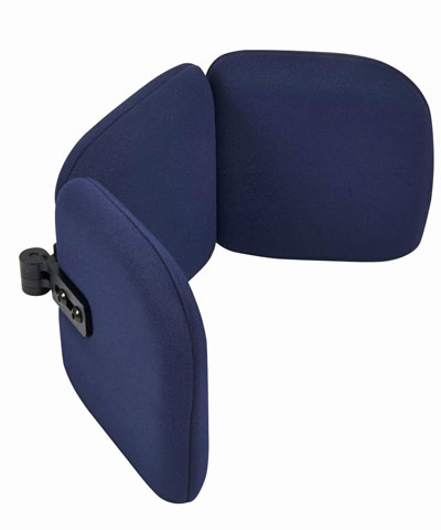 BioForm Tri-Pad Headrest with Angle Adjustable Wings