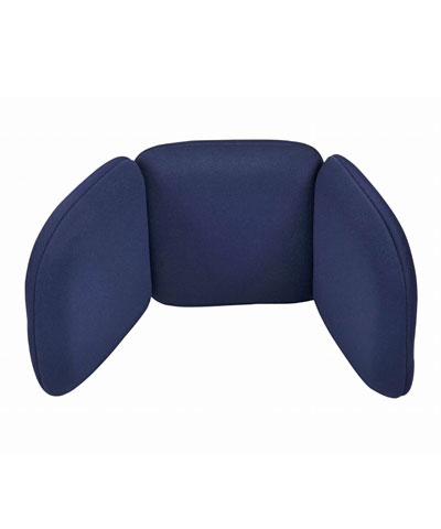 BioForm Tri-Pad Headrest with Fixed Angle Wings